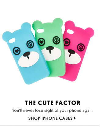 The Cute Factor - Shop iPhone Cases