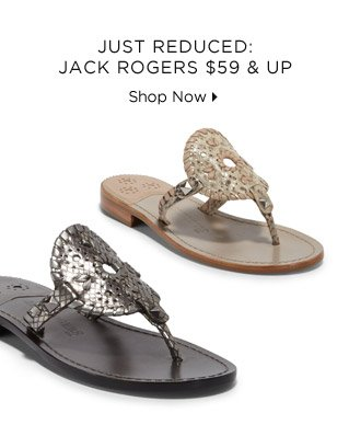 Just Reduced: Jack Rogers $59 & Up