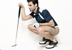 Golf Gear: Polos & Shorts