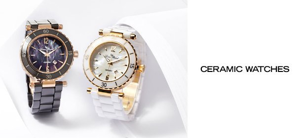CERAMIC WATCHES, Event Ends July 12, 9:00 AM PT >