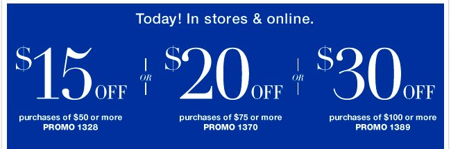 Save an EXTRA $30 with your coupon!