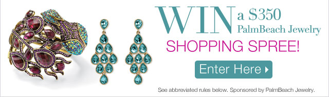 Win a $350 Palm Beach Jewelry Shopping Spree!