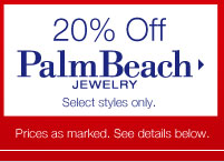 20% Off Palm Beach Jewelry