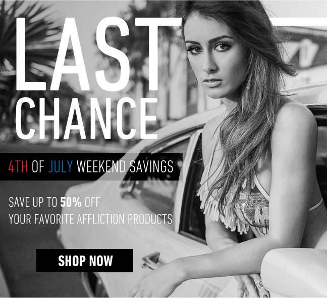 Last Chance to Save up to 50%