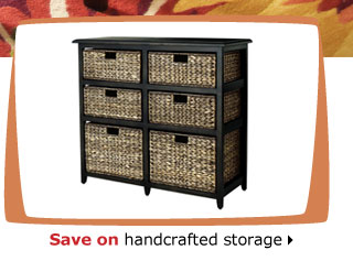 Save on handcrafted storage