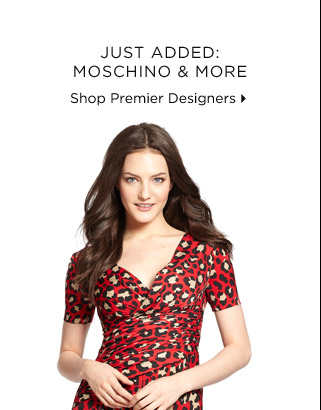 Just Added: Moschino & More