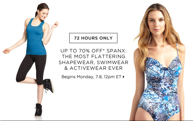 Up To 70% Off* Spanx...Shop Now
