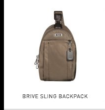 Brive Sling Backpack - Shop now