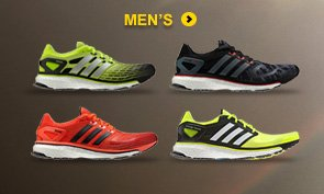 Shop Men's Energy Boost Running Shoes »