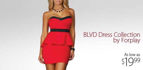 BLVD Dress Collection by Forplay