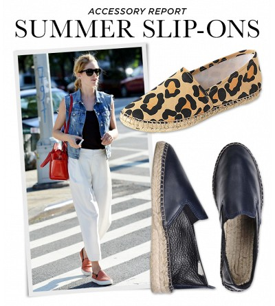 Who Needs Laces? Slide Into Summer's Best Slip-On Shoes
