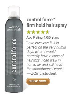 control force firm hold hair spray. shop now.