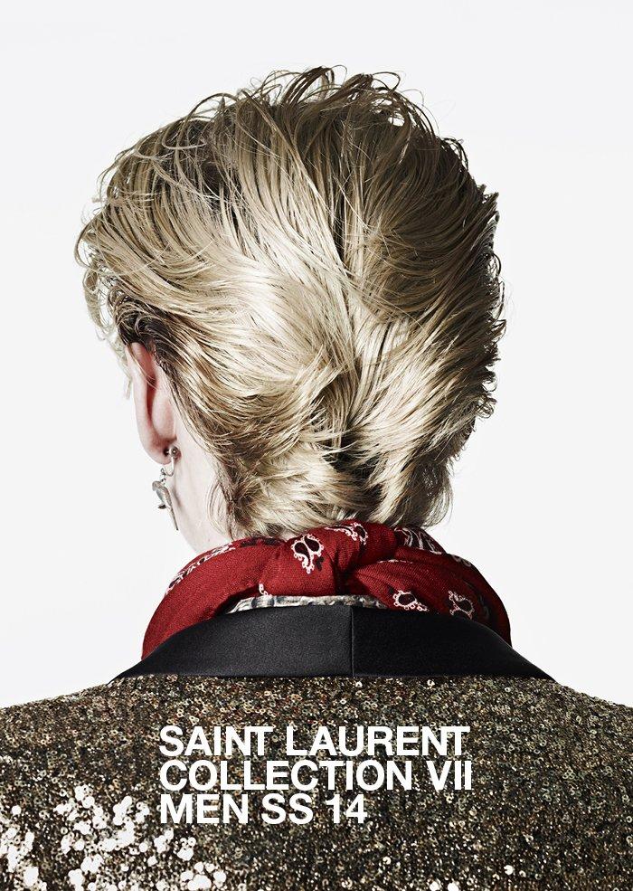 Watch the SS 14 Men's Fashion Show / Saint Laurent Collection VII