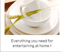 Everything you need for entertaining at home