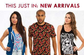 This Just In: New Arrivals