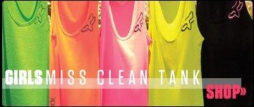 Girls Miss Clean Tank