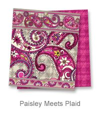 Paisley Meets Plaid