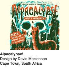 Alpacalypse - Design by David Maciennan / Cape Town, South Africa