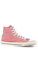 The Chuck Taylor All Star Hi Flag Sneaker in Red, White, & Blue