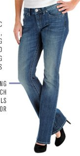 A slimming stretch with details to die-for