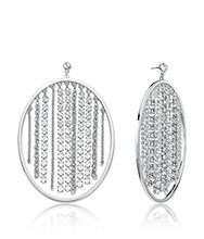 Tropical Crystal Pierced Earrings