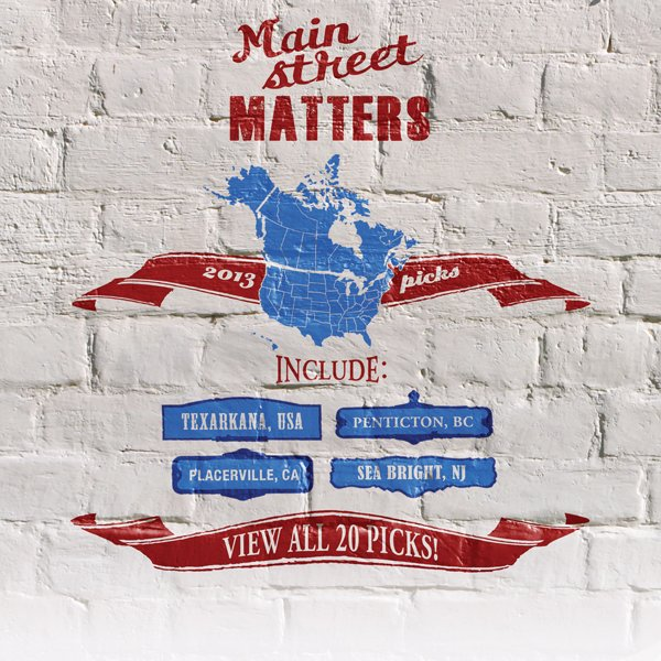 Thank you for supporting main street matters