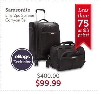 Samsonite Elite 2pc Spinner Carry-on Set. Shop Now.