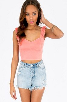 CHASING RUFFLES CROP TOP 23