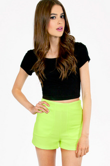 NEON DEEP POCKET SHORTS 32