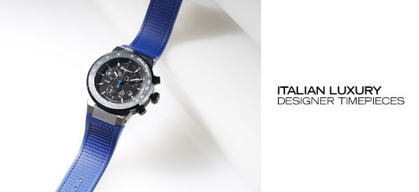 ITALIAN LUXURY: DESIGNER TIMEPIECES, Event Ends July 12, 9:00 AM PT >