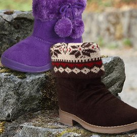 Fall Friendly: Girls' Boots