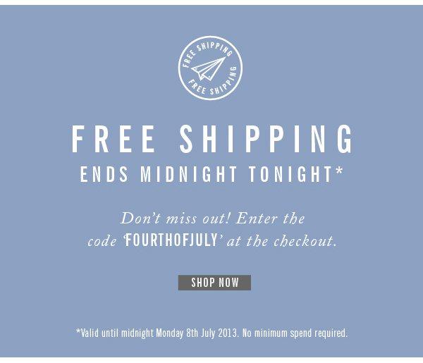 Ben Sherman - Free Shipping Ends Tonight