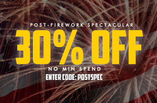 Post-Firework Spectacular: 30% Off