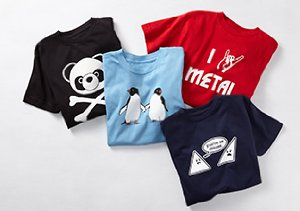 Cheeky Kids' Tees by Ex-Boyfriend