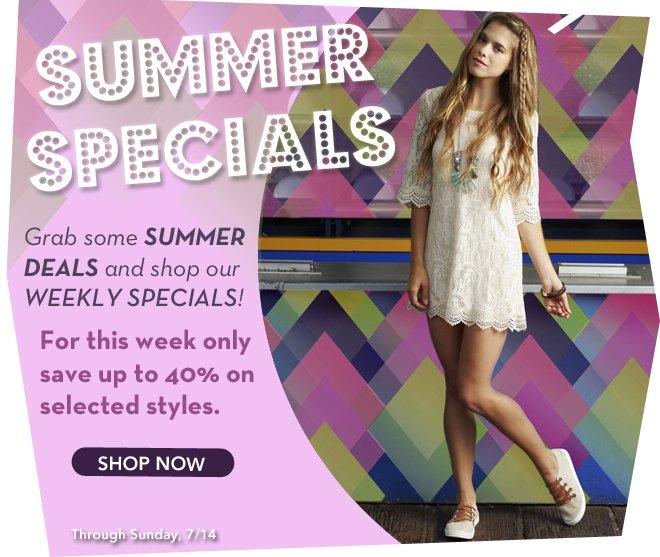 Grab Some Summer Deals!