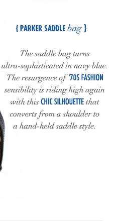 Parker Saddle Bag