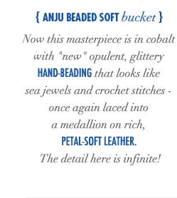 Anju Beaded Soft Bucket