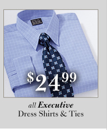 $24.99 USD - Executive Dress Shirts & Ties