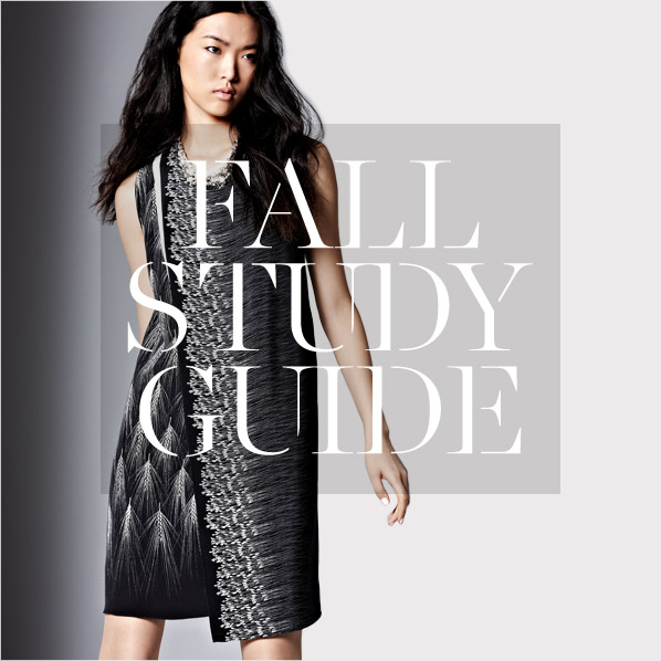 FALL STUDY GUIDE