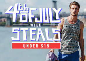 Shop 4th of July Steals: Under $15