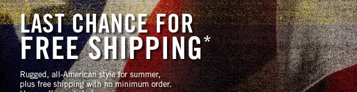 Independence Day Free Shipping