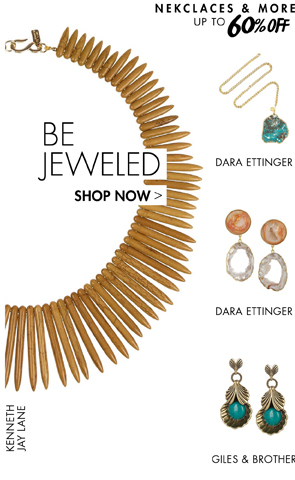 NECKLACES AND MORE UP TO 65% OFF