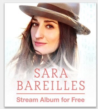 Sara Bareilles: Stream Album for Free