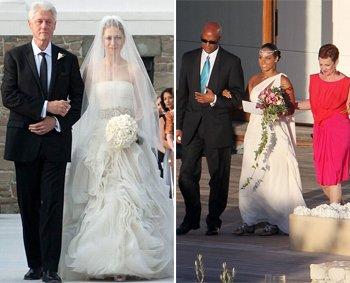 Vera Wang Celebrity Brides