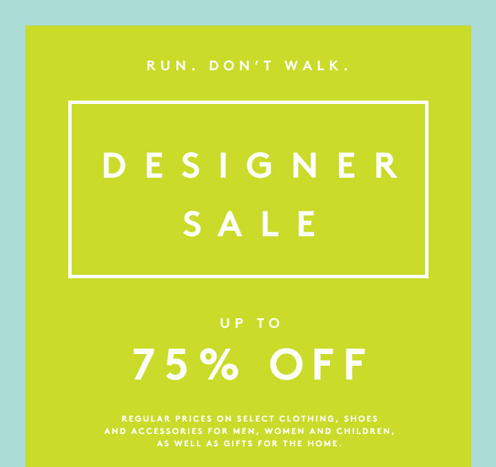 The Barneys Designer Sale just got even more extraordinary: Shop up to 75% off now!