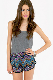 JAY CHEVRON SHORTS 26