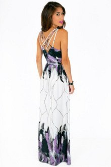 CAGED IN BACK MAXI DRESS 39