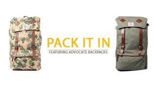 Ft. Advocate Backpacks