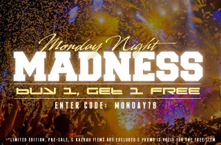 Monday Night Madness: Buy 1, Get 1 Free
