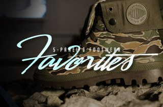 5-Panel & Footwear Favorites